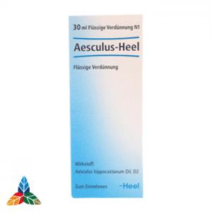 Aesculus heel gotas Farmacia Homeopática online