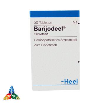 Barijodeel tabletas 1 Farmacia Homeopática online