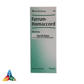 Ferrum heel gotas Farmacia Homeopática online