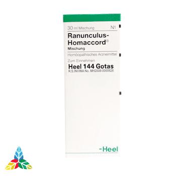 Ranunculus Homaccord gotas 1 Farmacia Homeopática online