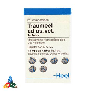 Traumeel ad veterinario tableta Farmacia Homeopática online