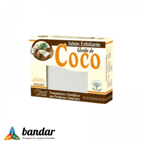 Jabon Exfoliante aceite de Coco